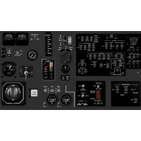 DHC Twin Otter - Center Panel