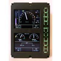 Vehicle and Engine Monitoring Display - VEMD